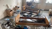 Ukraine Czernowitz |Explosion in Krankenhaus
