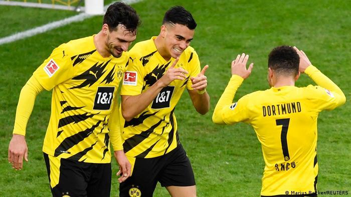 Borussia Dortmund vs. Arminia Bielefeld.