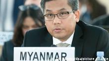 Schweiz UN in Genf 2019 |Kyaw Moe Tun, Botschafter Myanmar