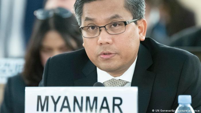 Постоянный представитель Мьянмы при ООН Чжо Мо Тун