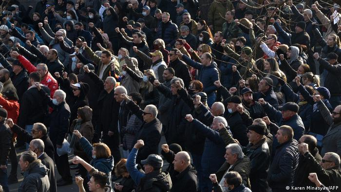 Armenien | Große Demonstration der Opposition in Eriwan