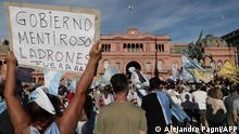 Argentinien | Protest gegen Korruption bei der COVID-Impfung