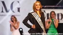 Anja Kallenbach wearing her Miss Germany sash