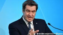 Markus Söder CSU Ministerpräsident Bayern
