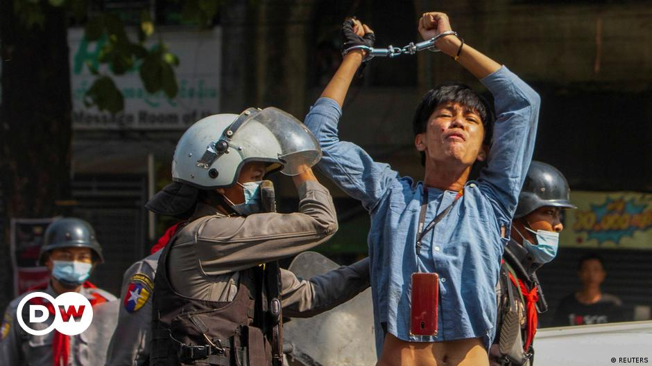 Myanmar: 4 dead as police crack down on anti-coup protests