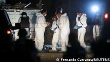 Forensics officers in Jalisco state, Mexico