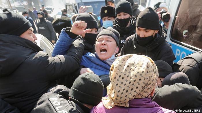 Kazakhstan protests