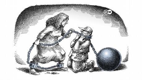 DW Persisch |Karikatur der Woche |Narges Mohammadi, Menschenrechtsaktivistin