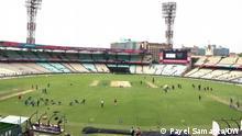 Indien Cricket Stadion Kalkutta