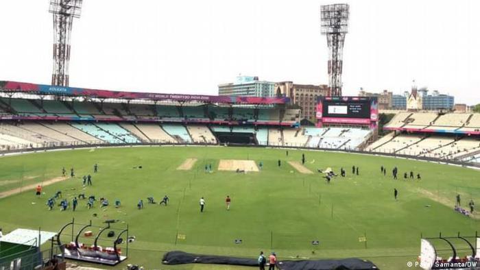 Eden Garden Cricket Stadium in Kolkata