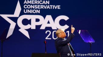 USA | US-Republikanertreffen CPAC| Donald Trump hält eine Rede in Florida