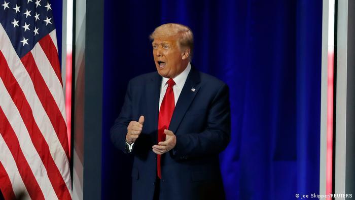 USA | US-Republikanertreffen CPAC| Donald Trump hält eine Rede in Florida