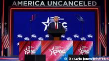 USA Florida | US-Republikanertreffen CPAC| Donald Trump Rede