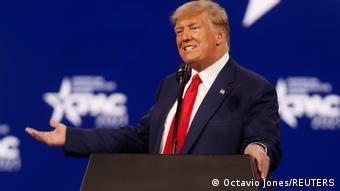 USA Florida | US-Republikanertreffen CPAC| Donald Trump Rede