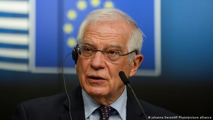 Jefe de la diplomacia de la UE, Josep Borrell: el riesgo de una mayor escalada es evidente.