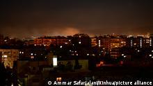 Syrien | Israelischer Raketenangriff auf Damaskus