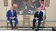 Afghanistan USA Sonderbeauftragter Zalmai Khalilzad Abdullah Abdullah