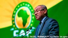 Afrika Fußball Ahmad Ahmad