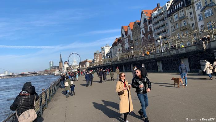 Šetalište u Düsseldorfu