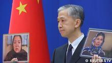 China Peking | Sprecher des Außenministerium - Wang Wenbin während Pressekonferenz