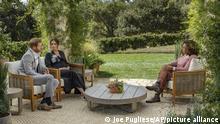 Oprah Winfrey im Interview mit Meghan und Harry