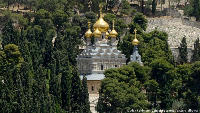 Церковь Святой Марии Магдалины в Иерусалиме. Здесь похоронена Алиса фон Баттенберг