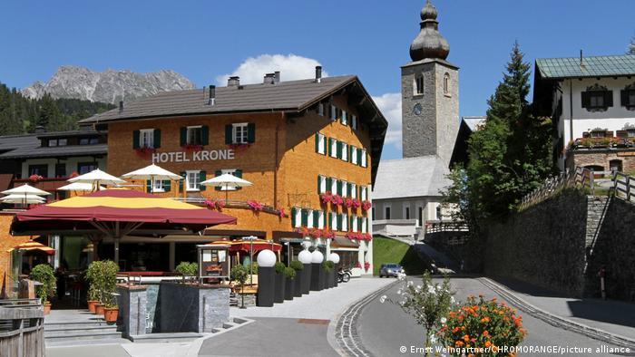 Österreich Vorarlberg   Coronakrise: Gastronomie