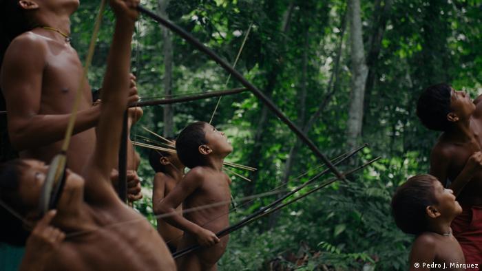 Cena do filme A Última Floresta