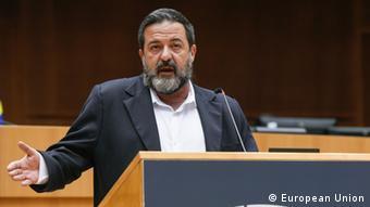 Manu Pineda, eurodiputado español del bloque de La Izquierda