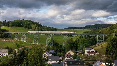 Rail test track near Annaberg-Buchholz