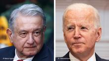 Kombobild Manuel Lopez Obrador und Joe Biden