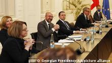 Georgien EU-Ratschef Charles Michel