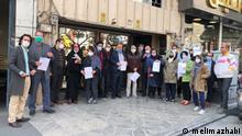 Iran Klage gegen Einzelhaft