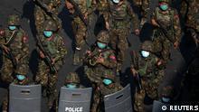 Weltspiegel 02.03.2021 | Myanmar Yangon nach Militärputsch |Soldaten