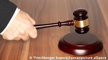 Hammer Gerichtssaal Gericht Richter-Hammer