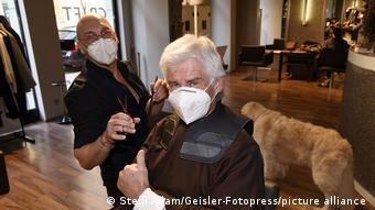 В мюнхенской парикмахерской
