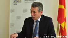 Nordmazedonien Apostol Simovski Direktor des Staatlichen Statistischen Amtes