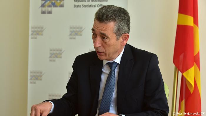 Директорот на македонскиот Државен завод за статистика, Апостол Симовски