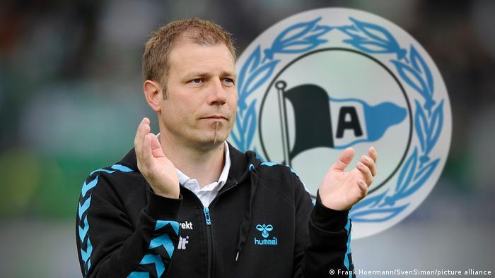 Fotomontage | Frank Kramer wird Arminia Trainer
