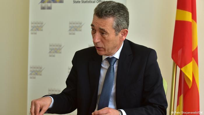 Nord-Mazedonien Volkszählung Apostol Simovski