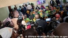 Afrika Nigeria Journalisten bei der Arbeit