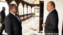 Sansibar Inauguration Präsident Hussein Ali Mwinyi Vizepräsident Othman Masoud Othman
