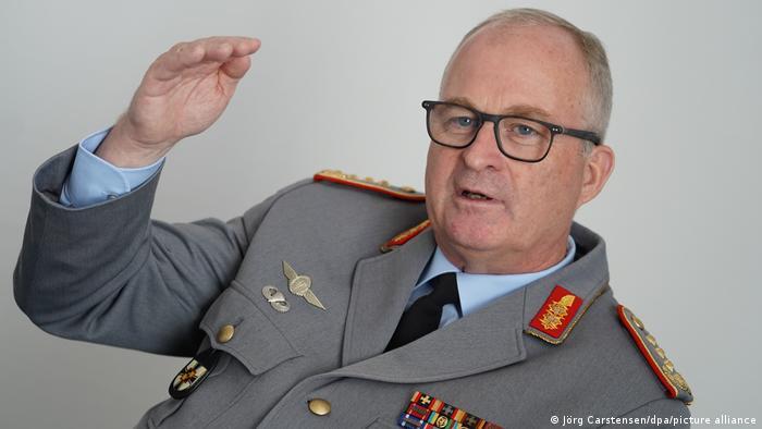 Deutschland Generalinspekteur der Bundeswehr General Eberhard Zorn