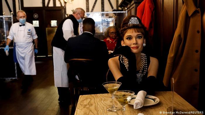 USA | New York | Madame Tussauds's Wachsfiguren im Peter Luger Steak House