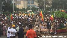 Äthiopien Adwa 125. Unabhängigkeitstag
