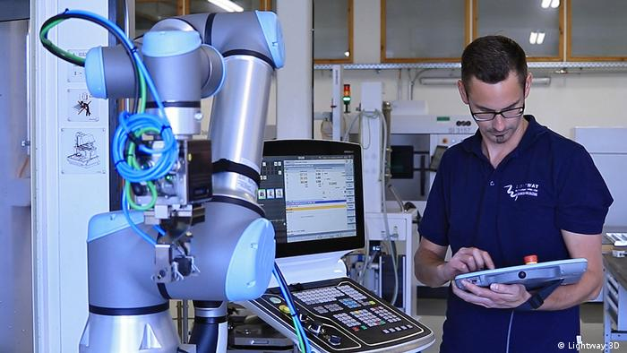 Firma Lightway 3D Roboter