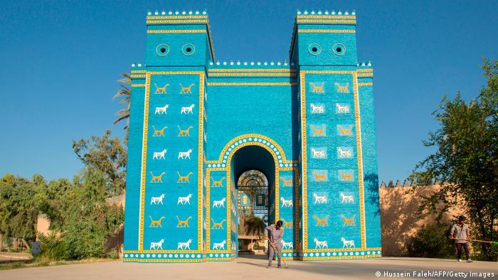 Réplica de la Puerta de Ishtar