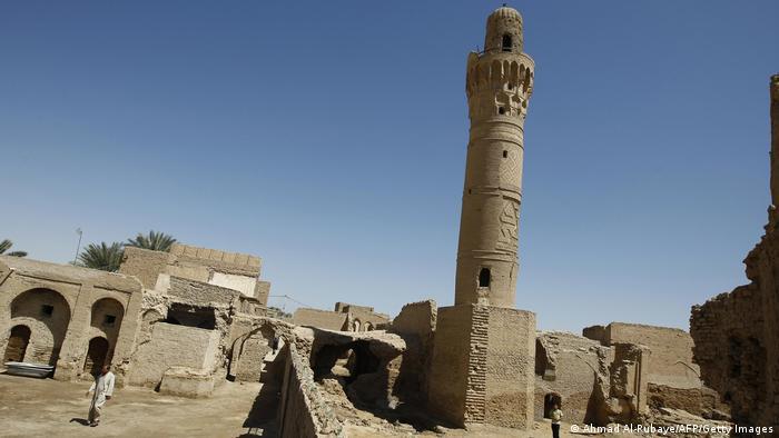 El minarete de la ciudad Dhu al Kifl