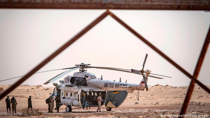 Pasukan misi perdamaian PBB MINURSO di Sahara Barat
