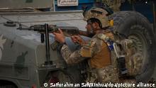 Afghanistan | afghanischer Soldat